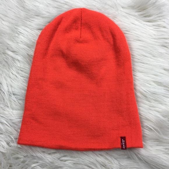 5b5712668966a Levi s Other - 🌼 Levi s Orange Beanie Hat Unisex Adult